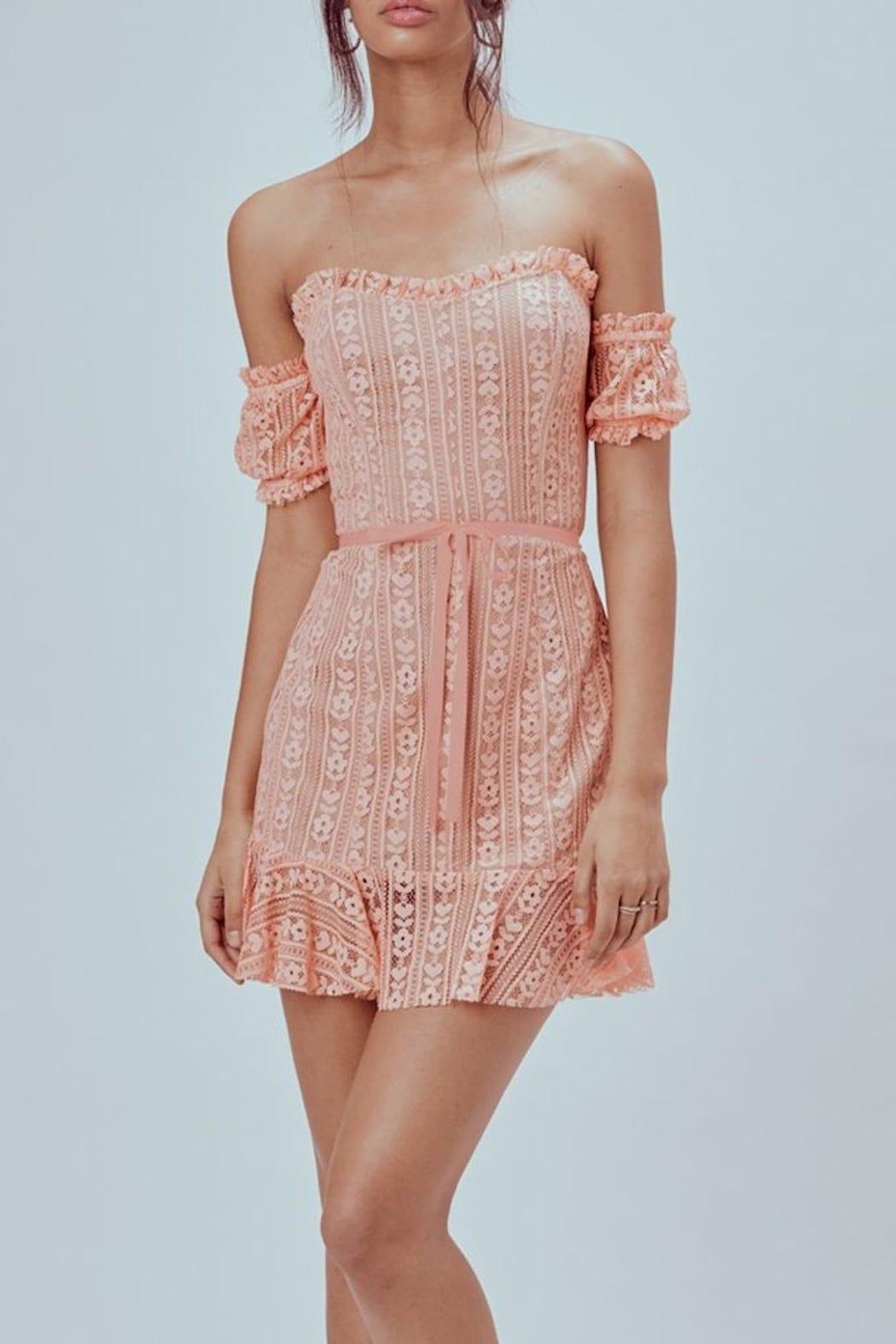 LUCIA BOUTIQUE Dakota Mini Multicolored Dress