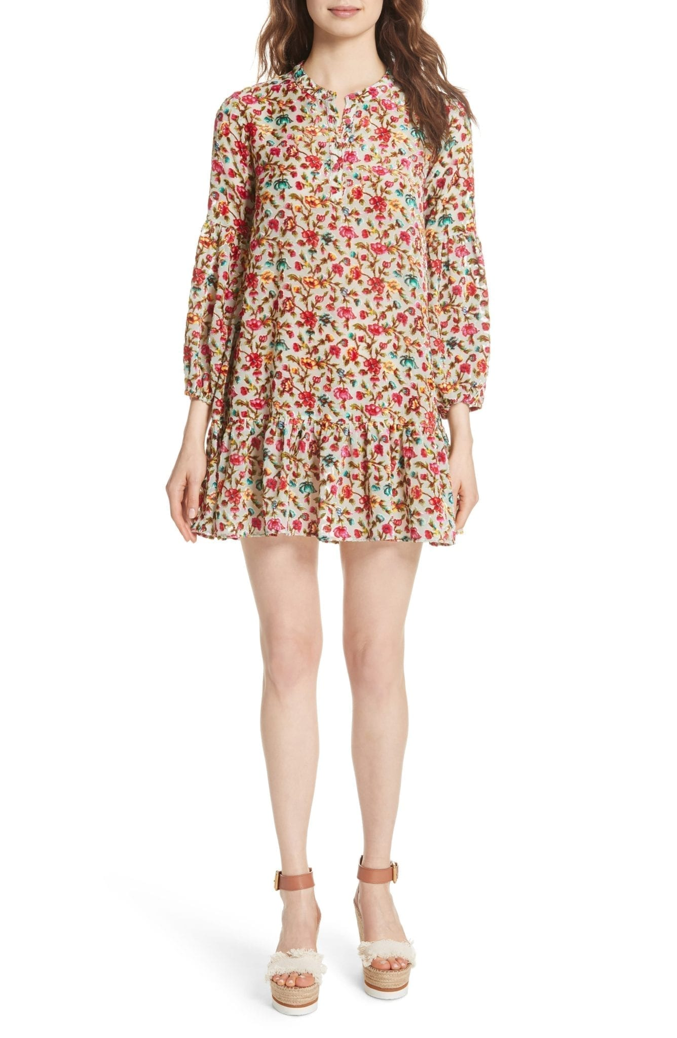 MES DEMOISELLES Simpson Multi / Printed Dress