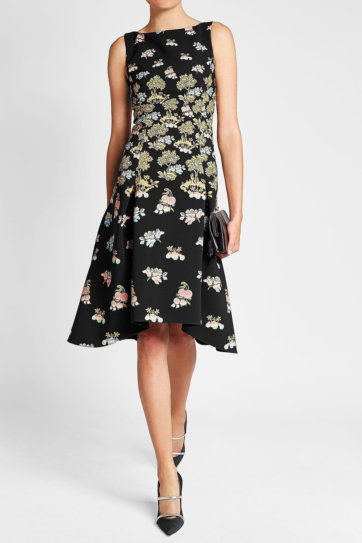 PETER PILOTTO Cady Multicolored / Floral Printed Dress