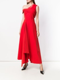 PREEN BY THORNTON BREGAZZI Carol Red Dress
