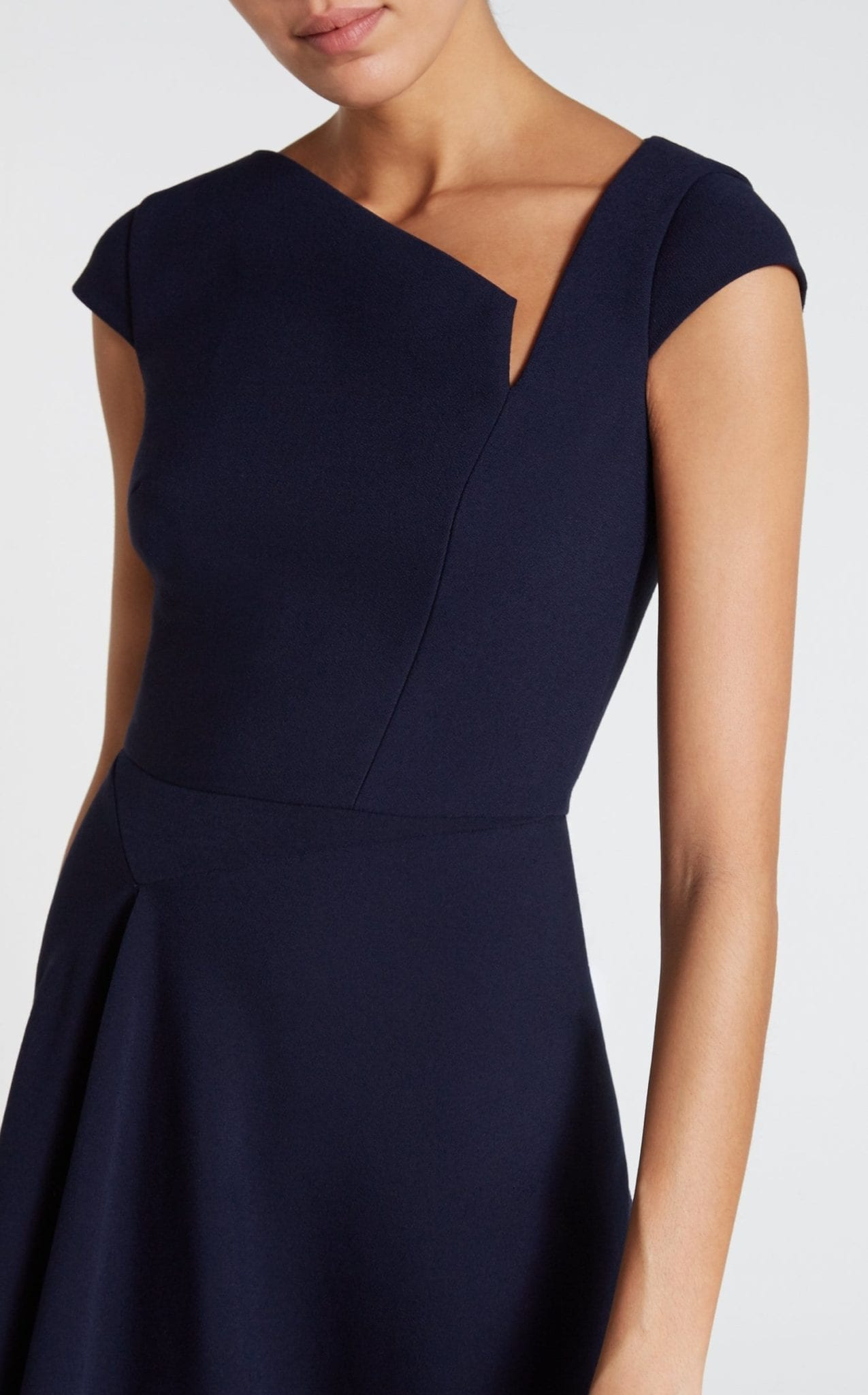 Roland Mouret Augustus Navy Dress We Select Dresses