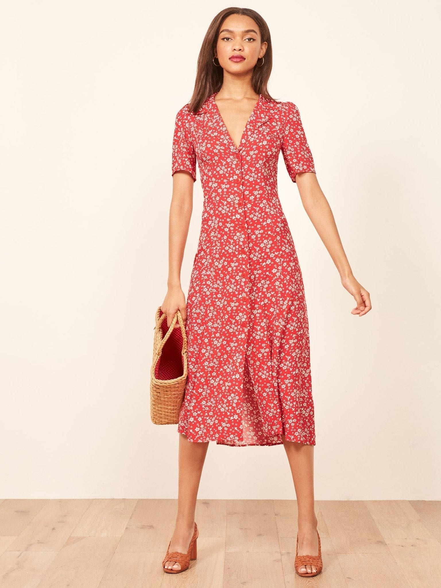 f0f091a729ea6 THE REFORMATION Clarice Merci Dress - We Select Dresses