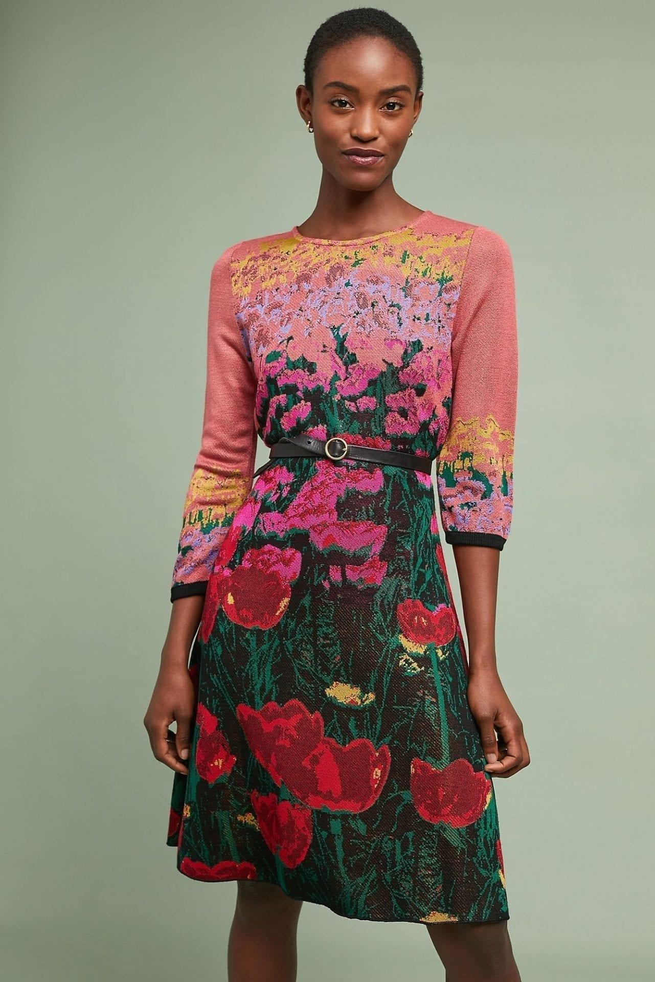 ALDOMARTINS Lisse Sweater Multicolored Dress
