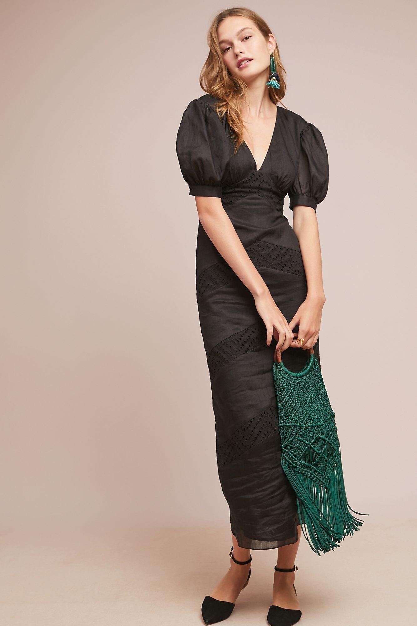 AZULU Blakely Maxi Black Dress