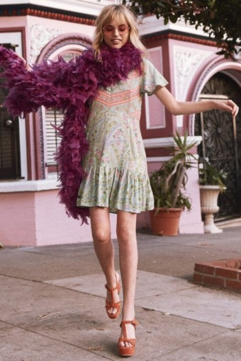 Feel Your Most Fabulous In A Flounced Hem Dress