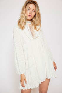 FREEPEOPLE Venice Mini Ivory Dress