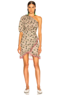 ISABEL MARANT ETOILE Esther Ecru Dress