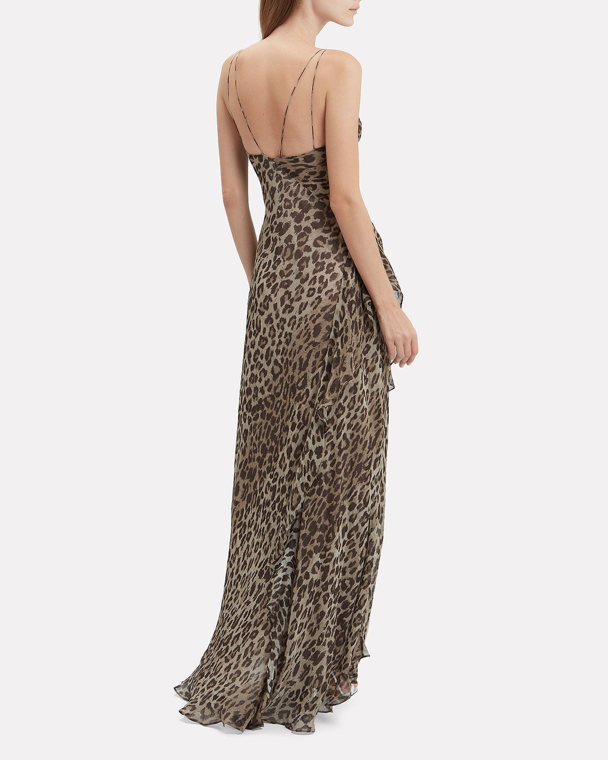 8315a8f39508 NICHOLAS Leopard Tie Front Maxi Multicolored Dress - We Select Dresses