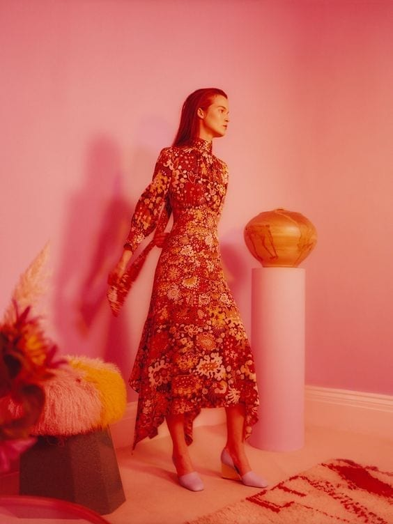 Peter Pilotto Dresses – Digital Prints And Dreamy Silhouettes
