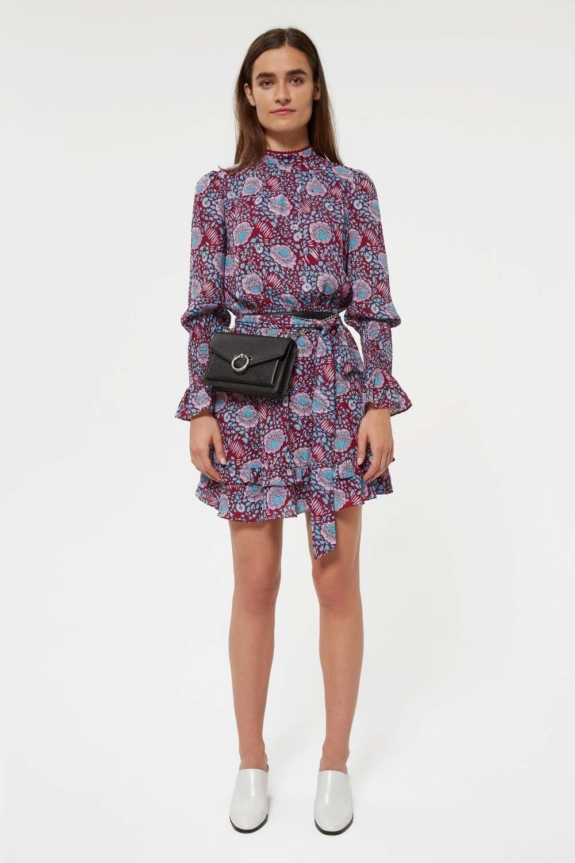 REBECCA MINKOFF Belinda Multicolored Dress