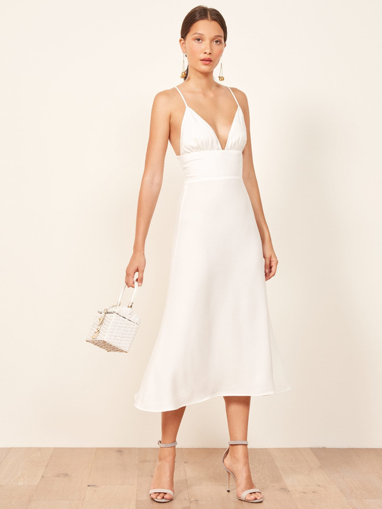 Reformation Talita Ivory Dress We Select Dresses