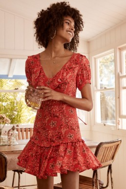 SPELL AND THE GYPSY Celestial Mini Flame Dress