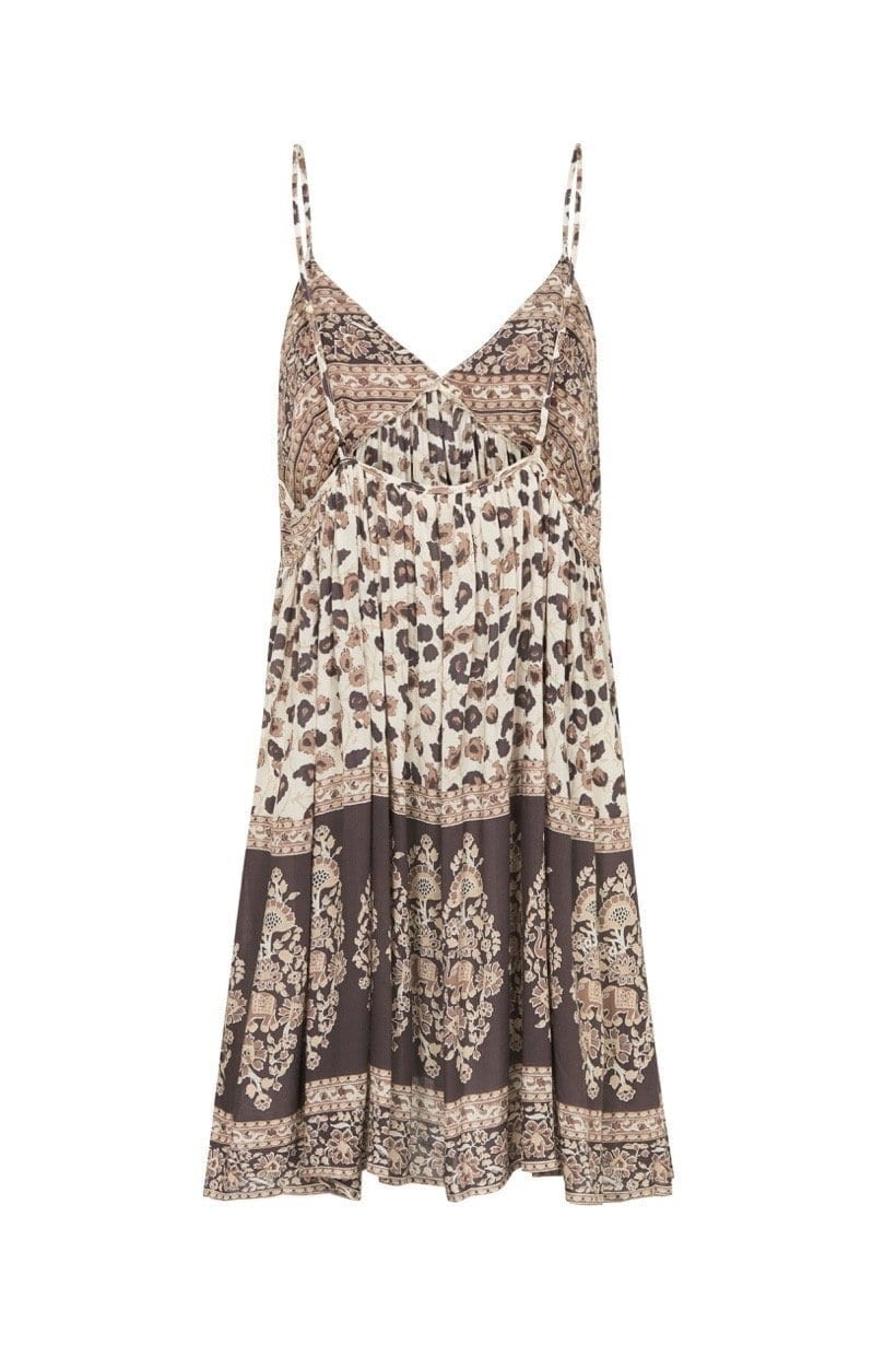 c4a9ee11ab99 SPELL AND THE GYPSY Delirium Strappy Mini Cream Dress - We Select ...