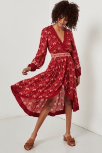 SPELL AND THE GYPSY Jewel Soiree Copper Dress