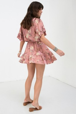 SPELL AND THE GYPSY Rosa Play Blush Dress