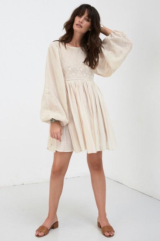 SPELL AND THE GYPSY Scorpio Cloth Mini Bone Dress