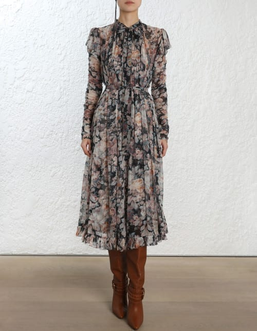 ZIMMERMANN Tempest Frolic Printed Dress