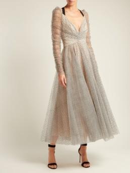 ZIMMERMANN Tempest Ballet Polka Dot Tulle White Dress