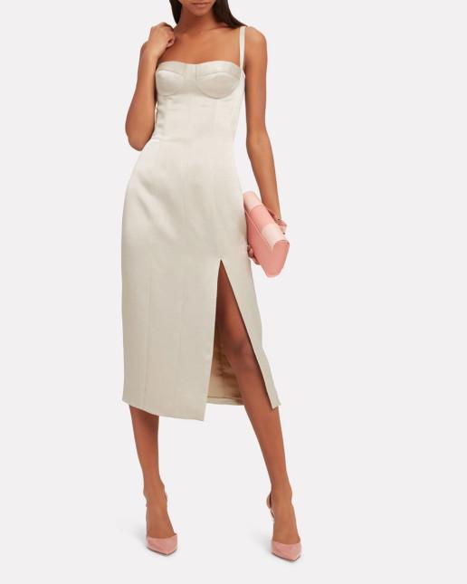 ALEXIS Yates Bustier Silver Dress