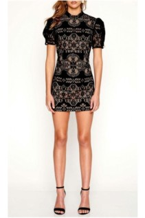 ALICE MCCALL Eyes On Me Black Dress