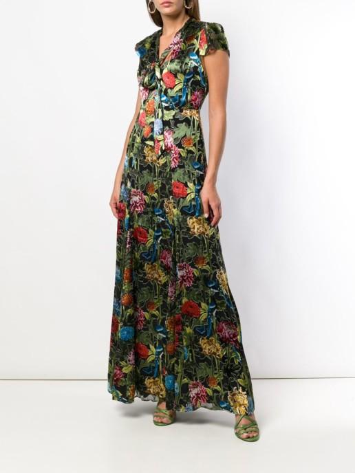ALICE+OLIVIA Multi / Floral Print Dress