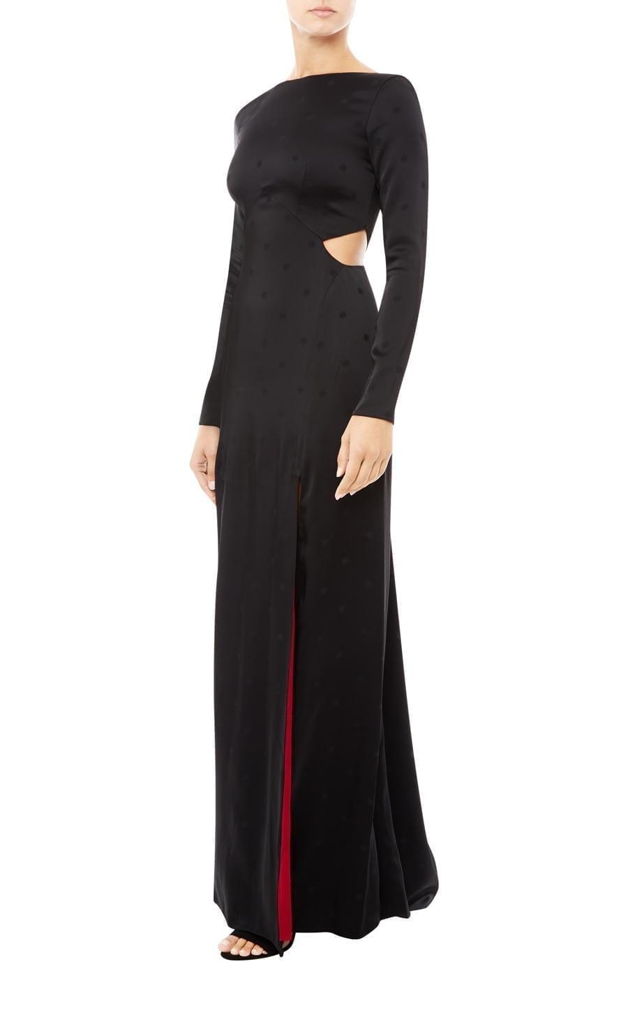 BETTY Split Black Dress