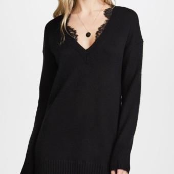BROCHU WALKER Lace Looker Black Dress - We Select Dresses 9b838d999