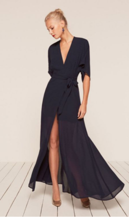 These Fashion Forward Navy Dresses Prove Blue Is The Modernised Black