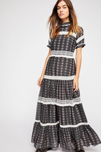 Catalina Maxi Black Dress