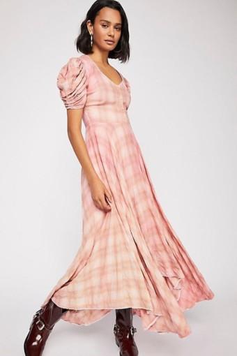 Coralie Maxi Pink Dress