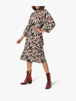 ISABEL-MARANT-ÉTOILE-Lisa-Floral-Print-Wrap-Multi-Dress
