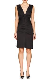 ISABEL MARANT ÉTOILE Rodwell Knotted Jersey Dark Grey Dress