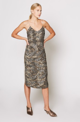 JOIE Hasana Silver Dress