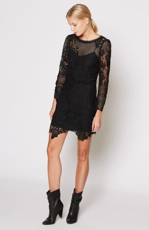 JOIE Hemera Balck Dress