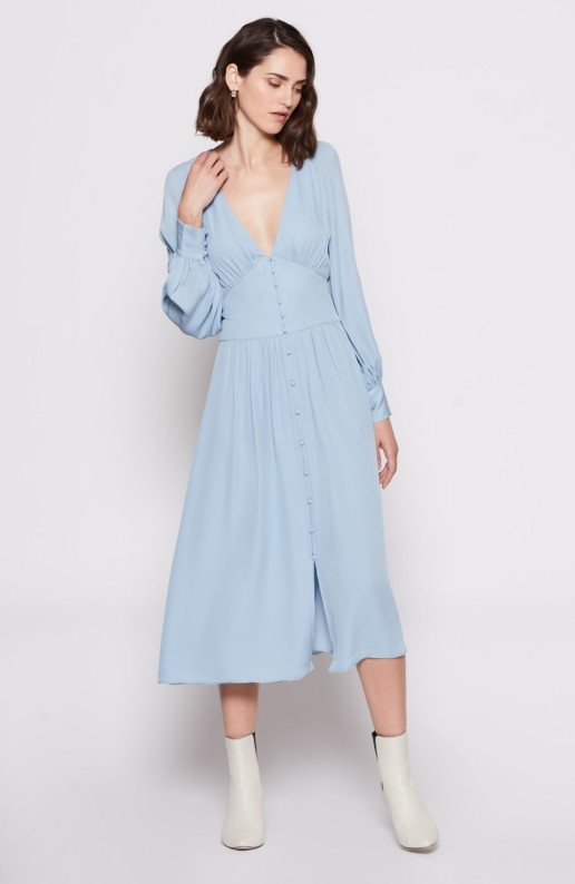 JOIE Kyria Blue Dress