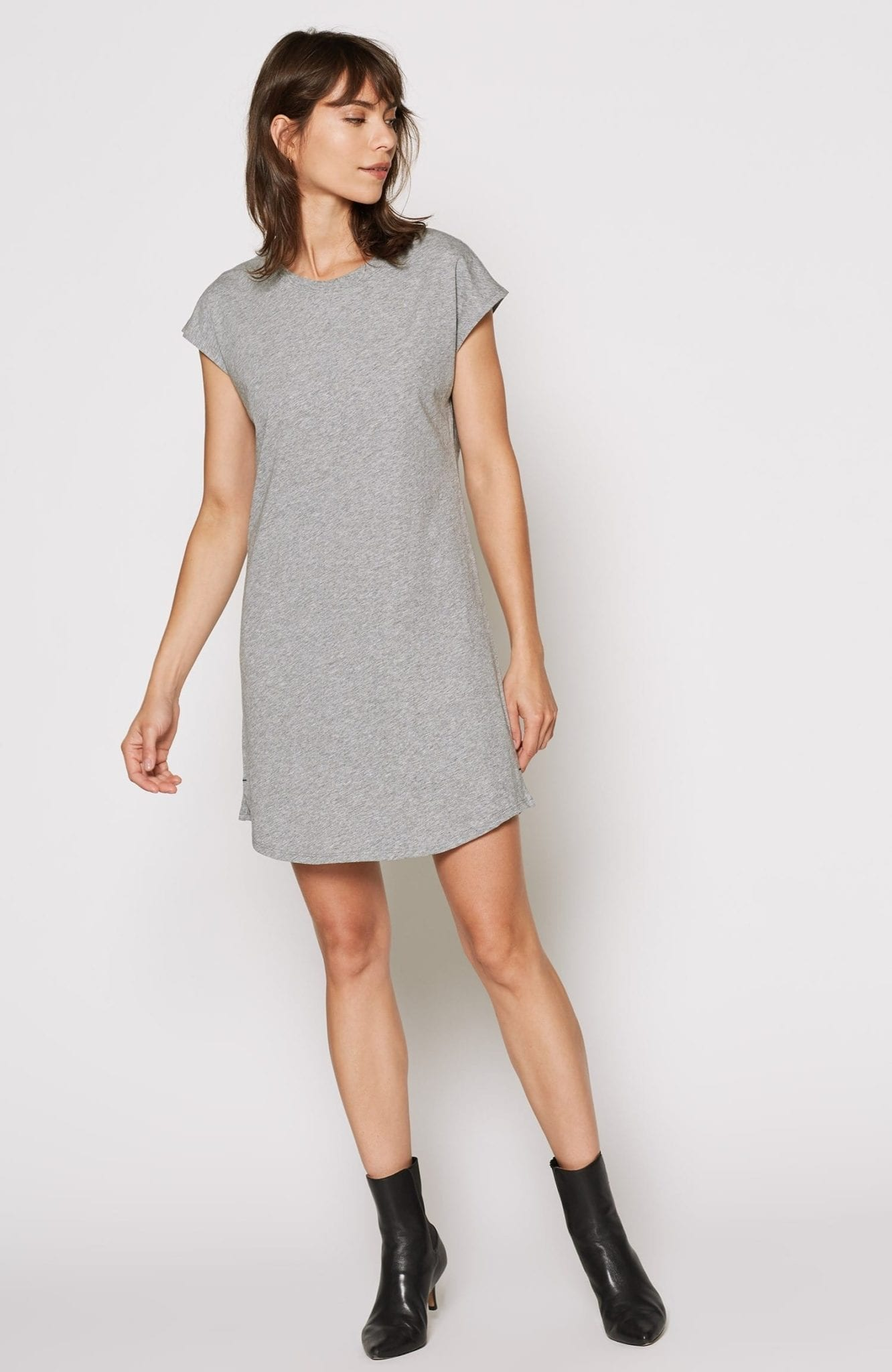 JOIE Lamisa Grey Dress