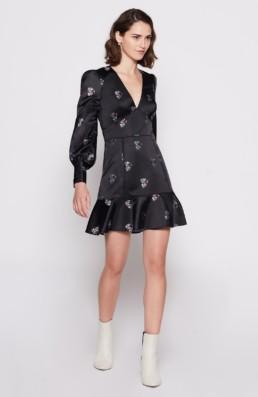JOIE Minia Black Dress