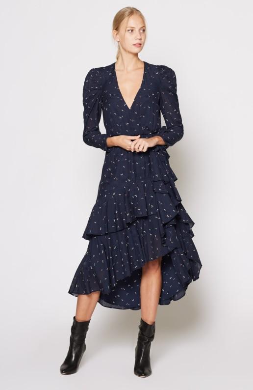 JOIE Miraly Midnight Dress