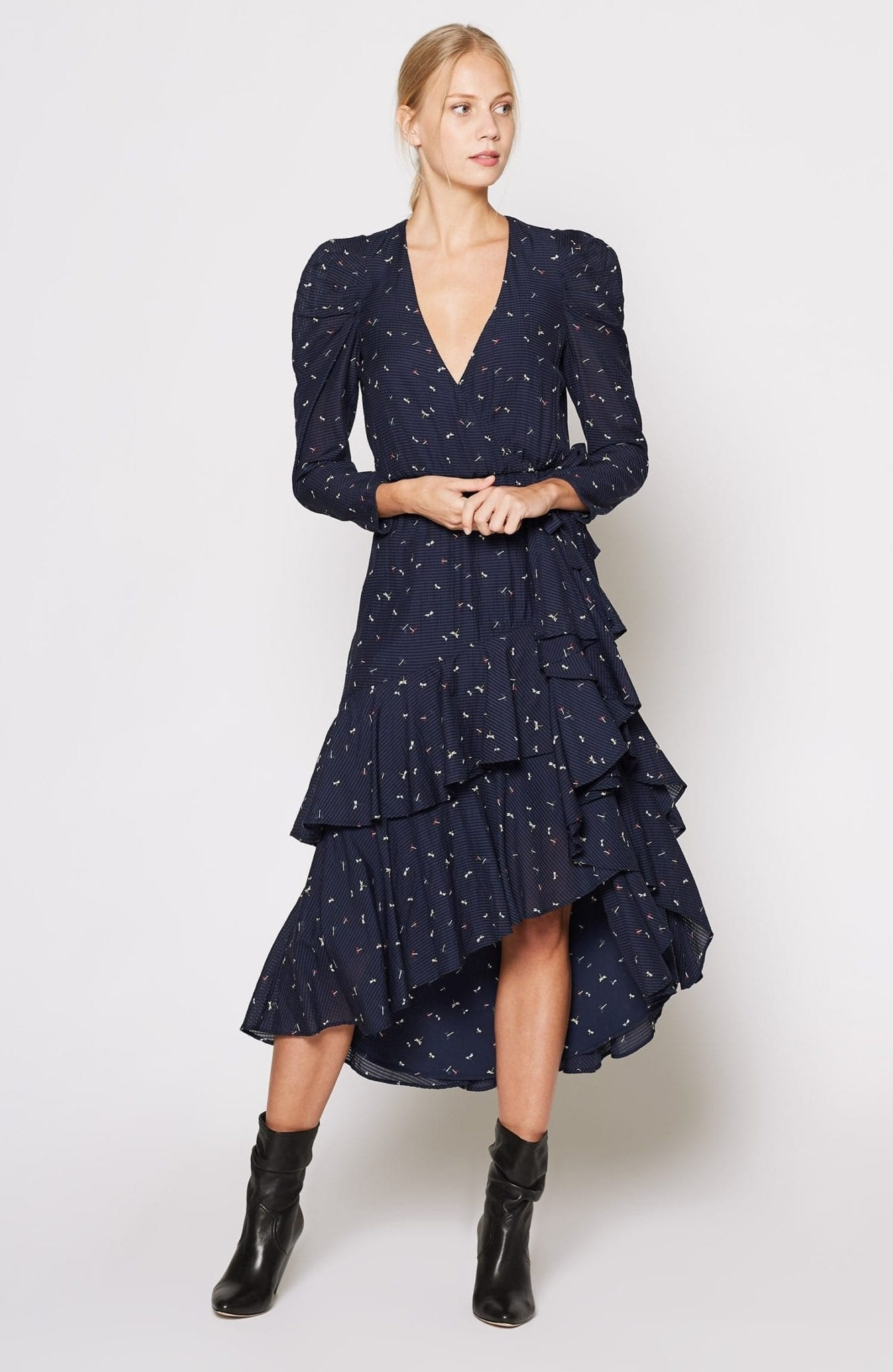 JOIE Miraly Midnight Dress