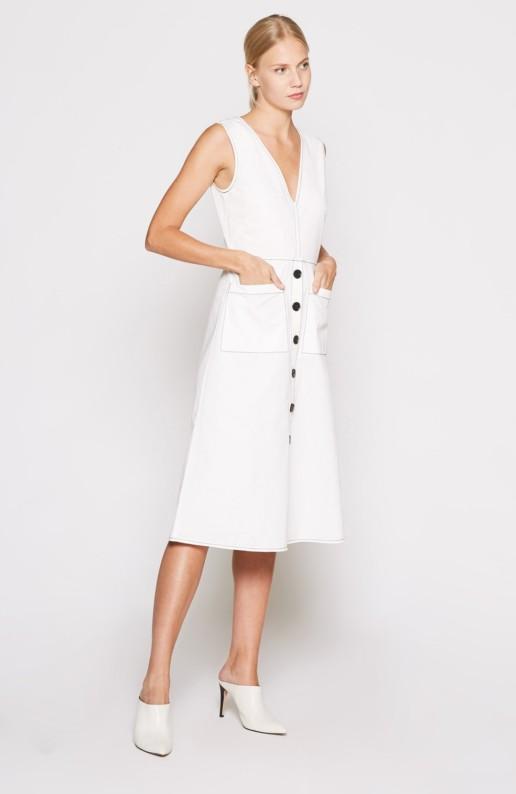JOIE Nadinaly White Dress