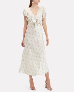 LOVESHACKFANCY Lillian Floral Multi Dress