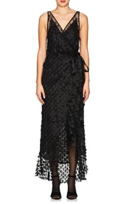 MANNING_CARTELL_Supreme_Extreme_Embellished_Wrap_Black_Dress