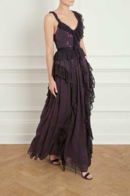 NEEDLE AND THREAD Interstellar Purple Gown