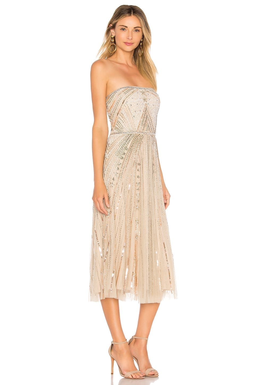 08ca7d4ec2b PARKER BLACK Lola Beige Dress - We Select Dresses