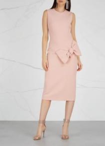 ROKSANDA Laurana Blush Cady Pink Dress