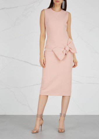 ROKSANDA Laurana Blush Cady Pink Dress