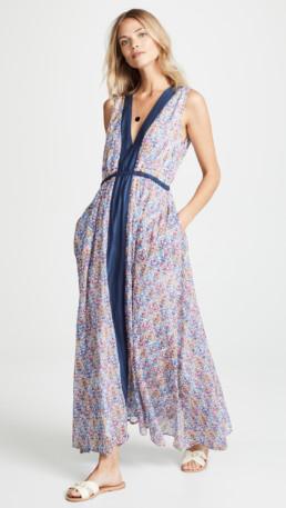 ROLLER RABBIT Akar May Blue Dress