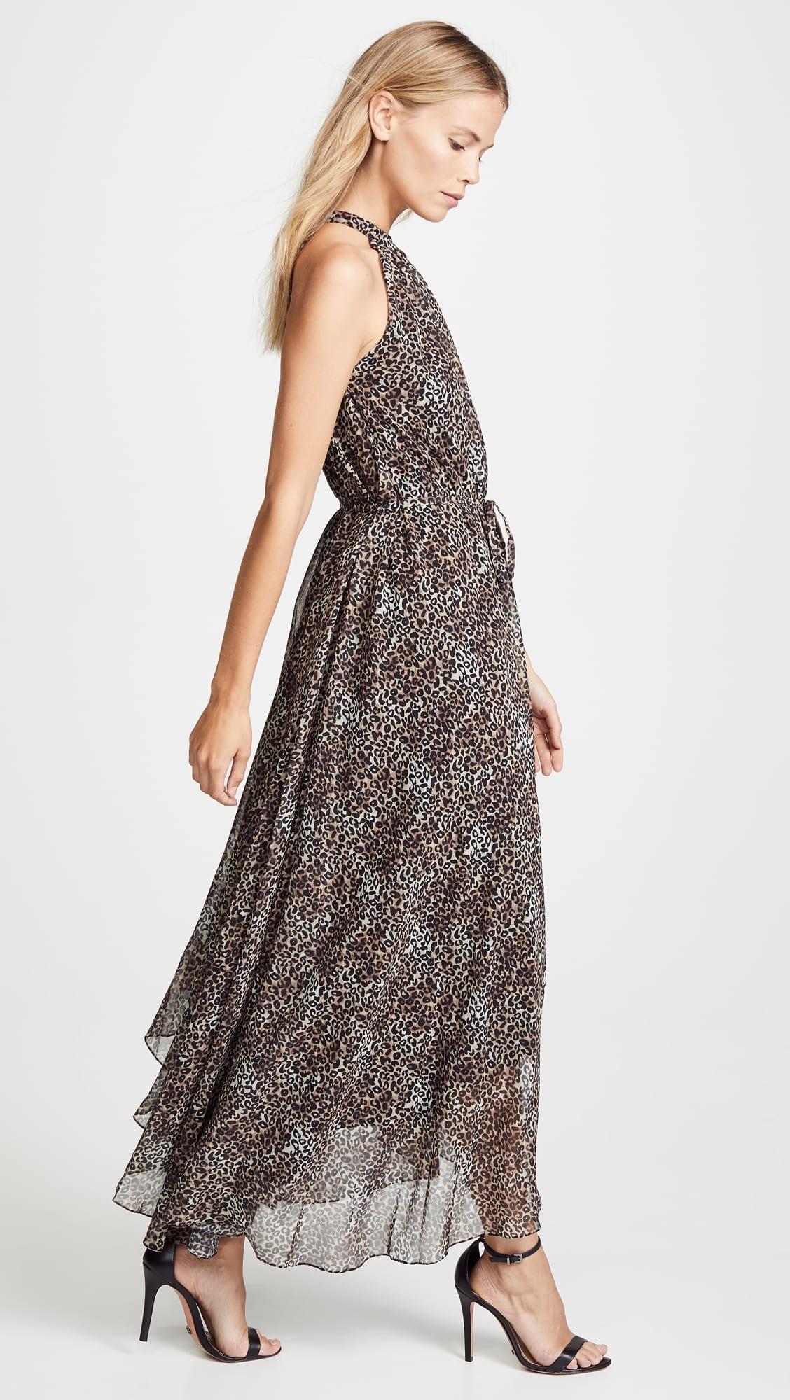Saloni Irina True Leopard Dress We Select Dresses. Leopard Print Long Sleeve  ... 58a453e7f
