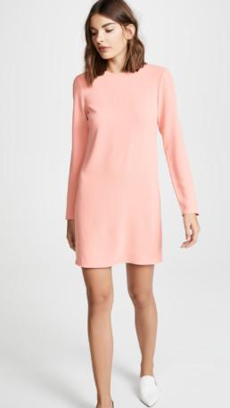 TIBI Shift Pink Dress