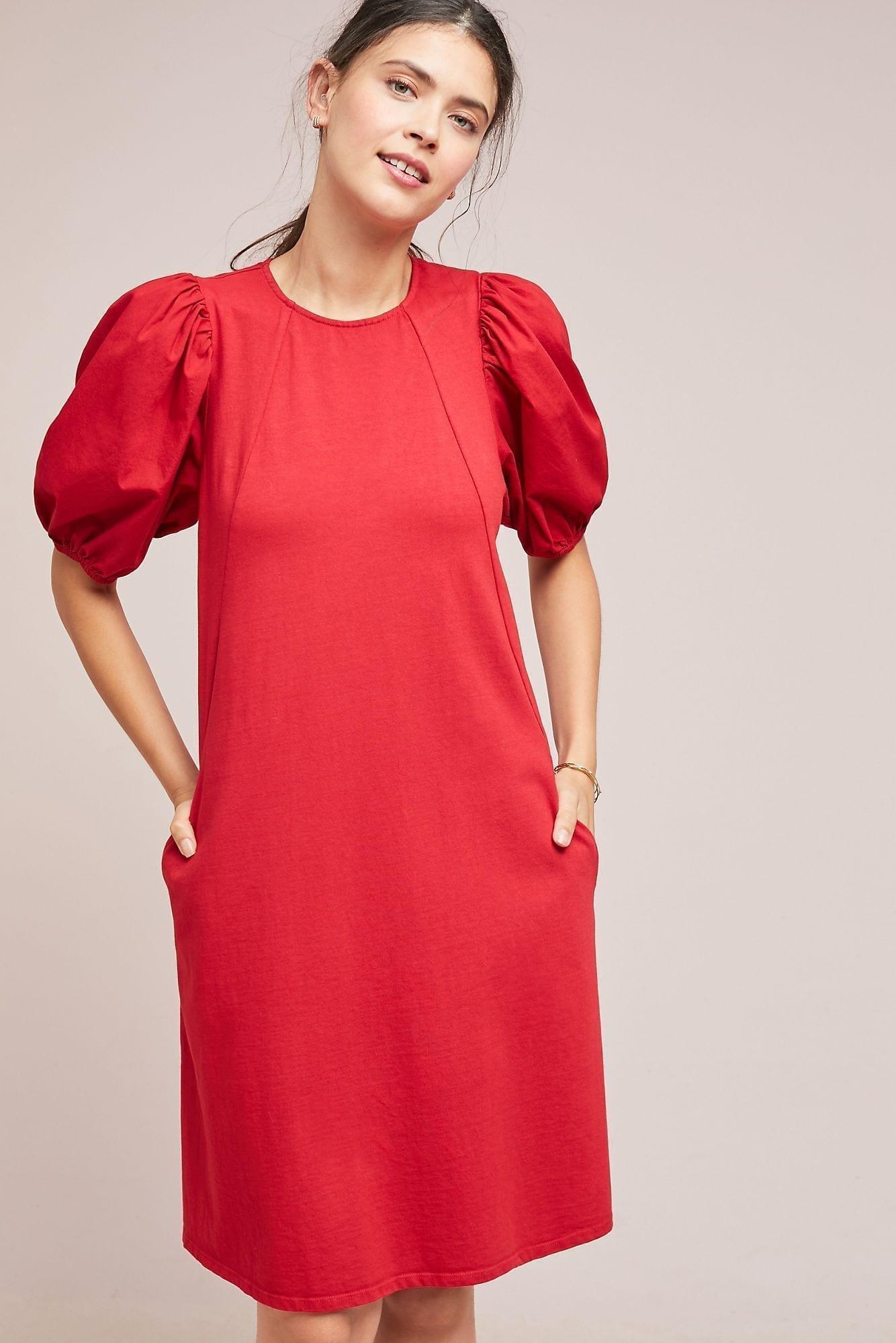 VELVET BY GRAHAM & SPENCER Siami A-Line Red Dress
